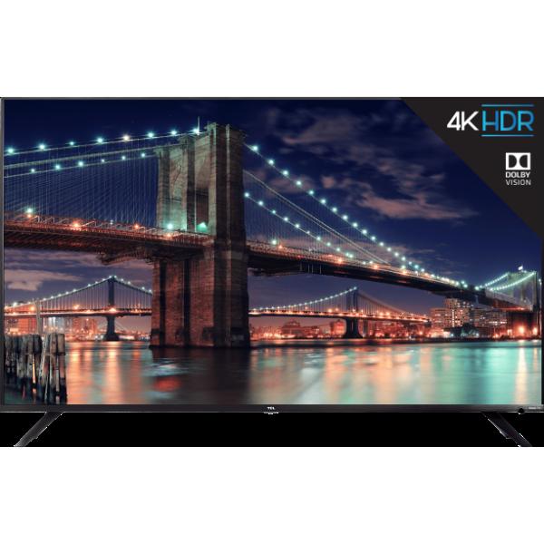 "65R615 65"" 4K 杜比视界 HDR Roku 智能电视 翻新版"