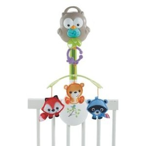 Fisher-Price Woodland Friends 3-in-1 Musical Mobile | null