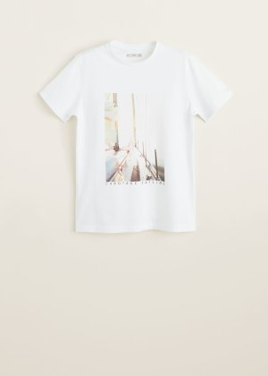 Photo print t-shirt - f foPrinted Men | Mango Man USA