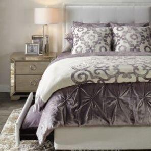 Avignon Bedding - Amethyst | Roberto Amora Bedroom Inspiration | Bedroom | Inspiration | Z Gallerie