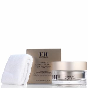 Emma Hardie Moringa Cleansing Balm with Professional Cleansing Cloth 100ml | Free US Shipping | lookfantastic