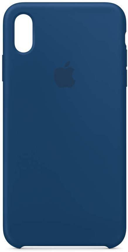 iPhone Xs Max 官方液态硅胶壳 天际蓝