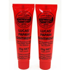 $12.39Amazon Lucas Papaw Ointment 25g Tube - TWIN Pack for value Sale