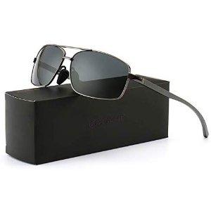 现价$11.39(原价$49.99)SUNGAIT 轻质偏光太阳镜热卖