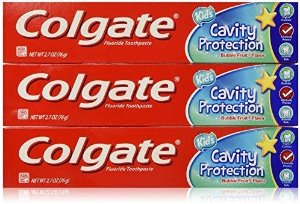 Amazon.com: COLGATE Fluoride Toothpaste Cavity Protection For Kids, Bubble Fruit Flavor 2.7 oz.. (3 Pack): Beauty
