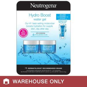 Neutrogena Hydro Boost Water Gel 1.7 oz, 2- count plus Bonus