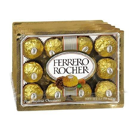 Ferrero Rocher 费列罗榛仁巧克力球12粒装