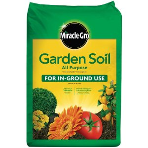 Miracle-Gro 0.75 cu. ft. All Purpose Garden Soil-75030430 - The Home Depot