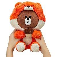 松鼠布朗熊玩偶 25厘米款