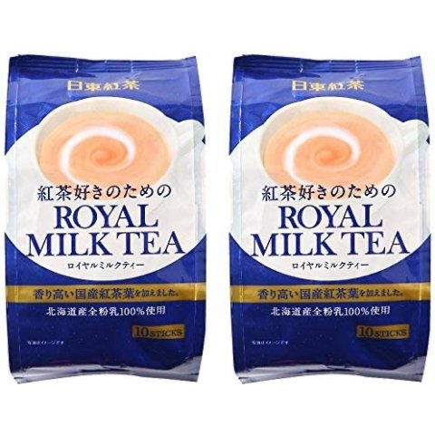 TWIN Pack Royal Milk Tea Hot Cold(total 20 pouch)