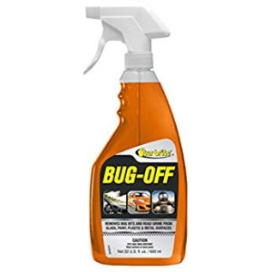 Amazon.com: Bugs N All - Best All Purpose Interior & Exterior Vehicle Cleaner & Bug Remover. 4oz. Concentrate Makes 2 Quarts. Includes: Empty 1 Qt. Spray Bottle - Safe on Wax, Clear Coat, Paint & Decals.: Automotive