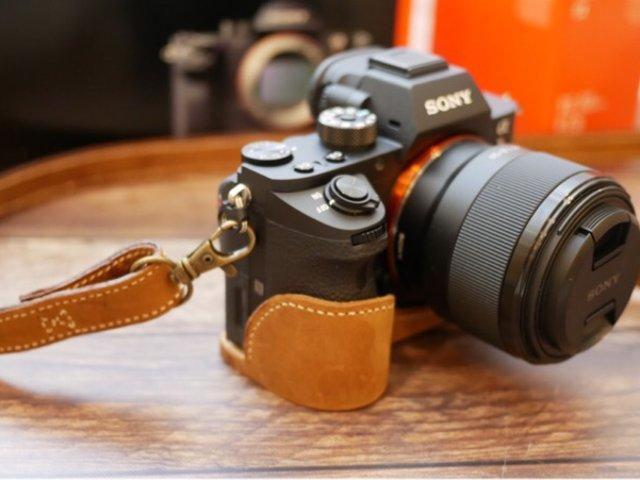 自己做个小皮件,相机📷套 & 皮肩帶