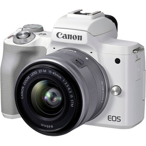 EOS M50 Mark II 微单相机 + 15-45mm 镜头套装