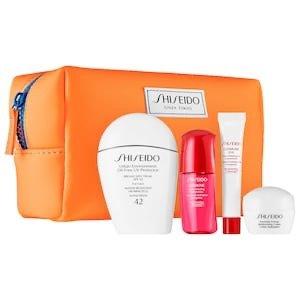 上新:Shiseido 白胖子防晒套装热卖 相当于送3件豪华中样