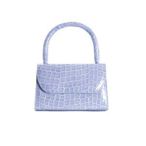 Anina Blue Croco Leather Mini Bags - PRE ORDER – L'INTERVALLE