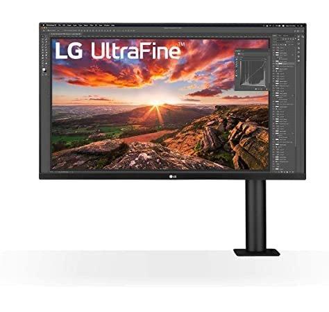 LG ergo 32UN880-B USB-C 4K 显示器 Mac用户好伙伴