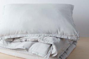 Organic Garment Wash Percale Duvet Set | Allswell Home