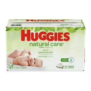 Huggies Wipes Natural Care Baby Wipes - 560ct : Target