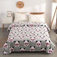 Mainstays Twin尺寸毛绒盖毯,多种图案可选