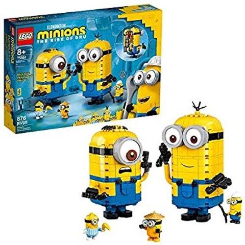 LEGO Minions: Brick-Built Minions and Their Lair (75551)
