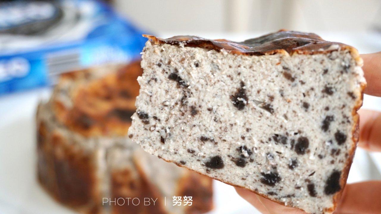 【超低卡高蛋白】升级版😍奥利奥巴斯克烧焦芝士蛋糕🤩减脂增肌必备💪