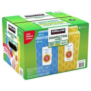 $17.99Kirkland Signature Disinfecting Wipes, Variety Pack, 304-count