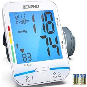 RENPHO 上臂血压计 随时追踪血压健康
