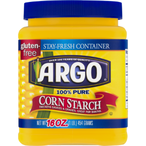 Argo 100% Pure Corn Starch, 16 Oz - Walmart.com