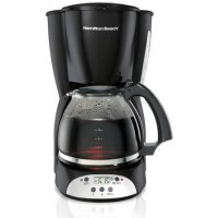 Hamilton Beach 家用可编程咖啡机 12杯量