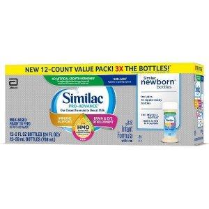 Similac Pro-Advance Non-GMO Infant Formula With Iron - 24 Fl Oz Total : Target