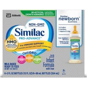 Similac 6pk Pro-Advance Infant Formula - 12oz : Target