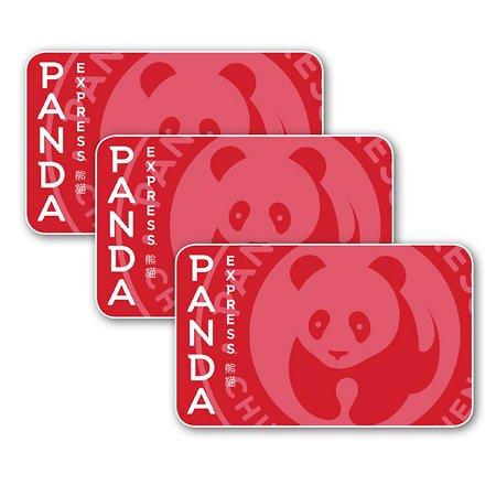 Panda Express $15礼卡3张,总值$45