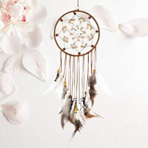 SIKEMAY Weave Flower Dream Catcher