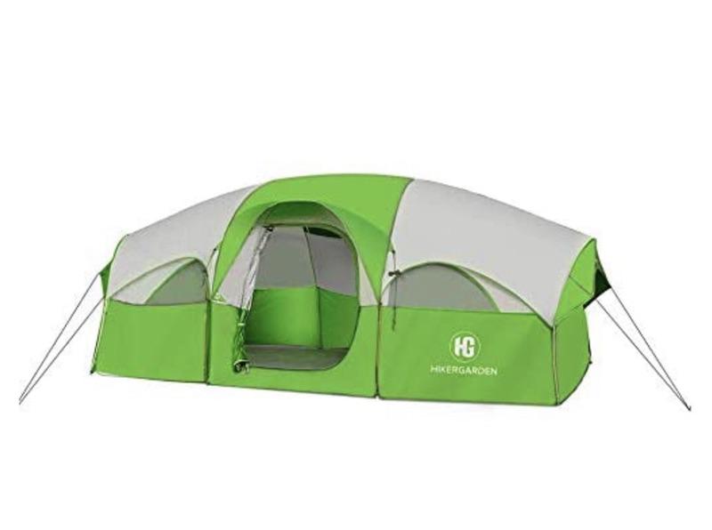 史低价!Campros户外8人防水超大户外野营帐篷