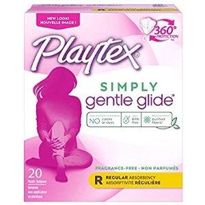 白菜价:Playtex 无香型卫生棉条 20支x2盒装