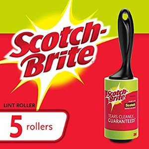 Amazon.com: Scotch-Brite Lint Roller Combo Pack, 5-Rollers, 95-Sheets/Roller (475 Sheets Total): Gateway