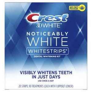 Walmart Crest Noticeably White Whitestrips Teeth Whitening Kit 10 Treatments Each 2 Pack Dealmoon