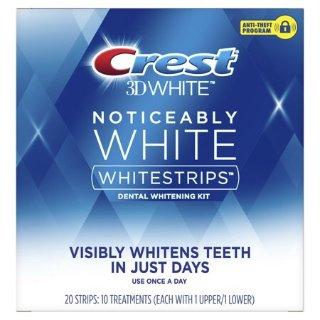 $36.42Walmart Crest Noticeably White Whitestrips Teeth Whitening Kit, 10 Treatments Each, 2 Pack