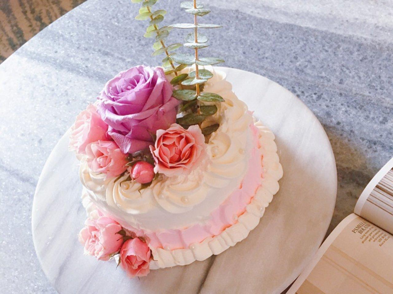 颜值即美味|网红Ins风花艺蛋糕