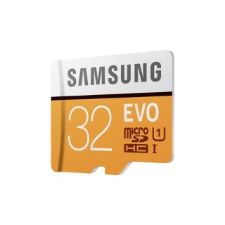 SAMSUNG 32GB EVO Class 10 Micro SDHC Card with Adapter