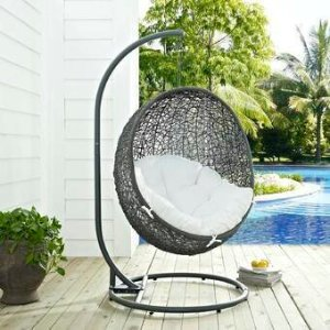 Mercury Row Valletta Swing Chair with Stand & Reviews | Wayfair