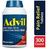 Advil 退烧止痛感冒药200mg, 300粒