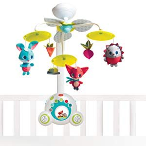 Amazon.com : Tiny Love Meadow Days Soothe 'n Groove Baby Mobile : Baby