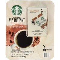 Starbucks VIA 速溶咖啡 中度烘焙款 8袋装
