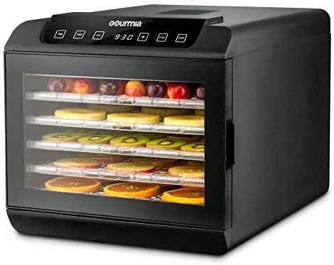 Gourmia 6层架食物脱水干燥烘干机 可自制水果干牛肉干