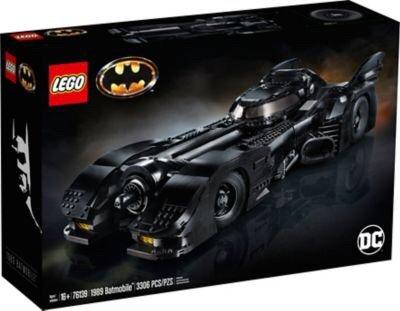 LEGO官网 1989蝙蝠侠战车 76139,黑五上市