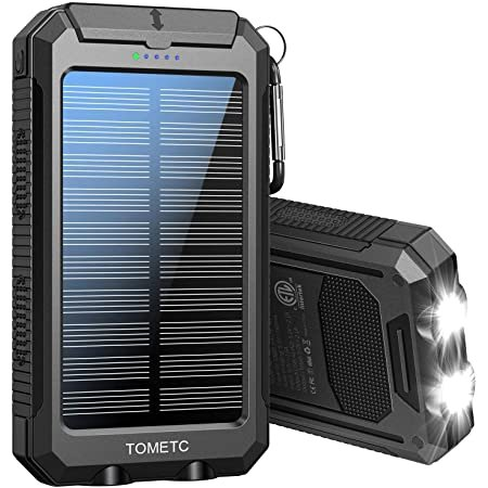 TOMETC 33800mAh 太阳能移动电源