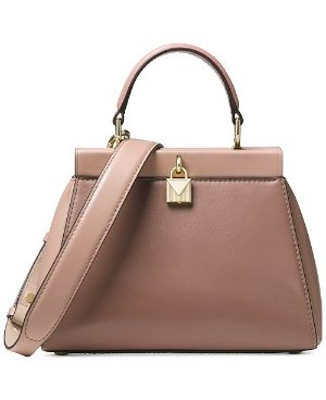 Michael Kors Gramercy Polished Leather Top Handle Satchel - Handbags & Accessories - Macy's
