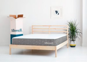 The Luxe Classic Firmer Hybrid Mattress   Allswell Home   Allswell Home