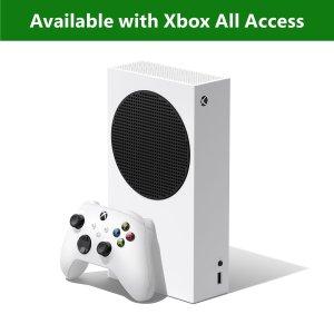 $289 次时代敲门砖Xbox Series S 512GB 游戏主机 无光驱版本